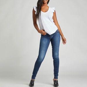 ⭐️ Silver Jeans Suki Mid Super Skinny 29/31 Dark